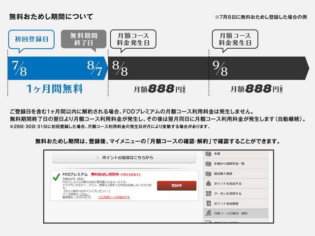 シャーロック2話3話動画FOD登録